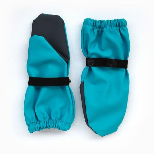 Непромокаемые рукавицы TIMSONS бирюза/серый