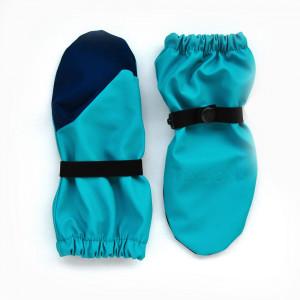 Непромокаемые рукавицы TIMSONS бирюза/синий