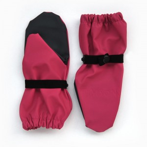 Непромокаемые рукавицы TIMSONS малина/серый