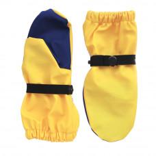 Непромокаемые рукавицы TIMSONS желтый/синий