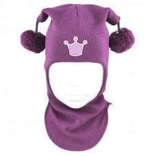 """Зимний шлем Бизи """"Принцесса"""" Орхидея"""