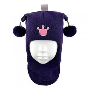 """Зимний шлем Бизи """"Принцесса"""" Слива"""