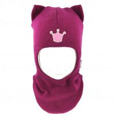 "Зимний шлем Бизи ""Кошка"" Фуксия"