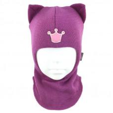 "Зимний шлем Бизи ""Кошка"" Орхидея"