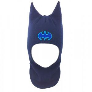 """Зимний шлем Бизи """"Бэтмен """" Тёмно-синий"""