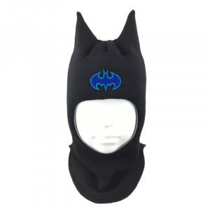"""Зимний шлем Бизи """"Бэтмен"""" Чёрный"""