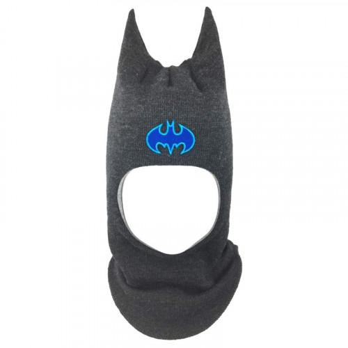 """Зимний шлем Бизи """"Бэтмен"""" Темный маренго"""