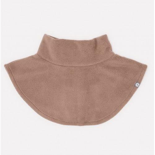 Шарф-манишка флисовая Crockid цвет мокко