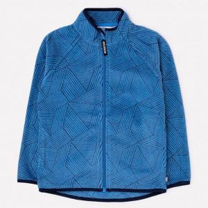 Куртка флисовая Crockid геометрия синий