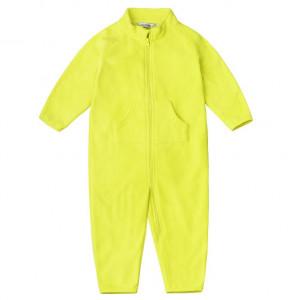 Комбинезон флисовый Crockid жёлтый