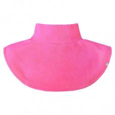 Шарф-манишка флисовая Crockid ярко-розовая