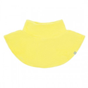 Шарф-манишка флисовая Crockid жёлтая