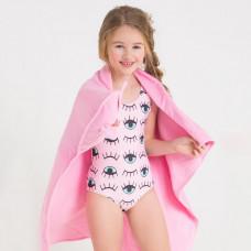 Купальник для девочки ГЛАЗКИ Crockid розовый