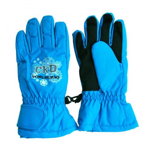 Перчатки Crockid для девочки бирюзовые