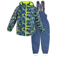Зимний костюм для мальчика CROCKID лайм