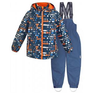 Зимний костюм для мальчика CROCKID оранжевый