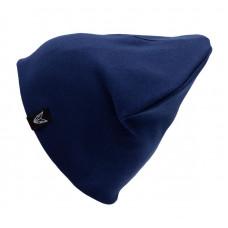Шапка БИНИ двухслойная + снуд (комплект) тёмно-синий