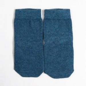 """Детские носки """"Однотонные"""" джинсовый меланж"""