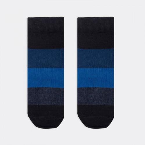 """Детские носки Mark Formelle """"Полосы"""" тёмно-синий"""