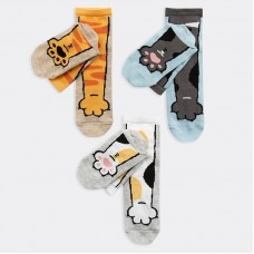 "Детские носки Mark Formelle ""Лапки"" (набор 3 пары)"