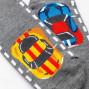 "Детские носки Mark Formelle ""Гонки"" серый меланж"