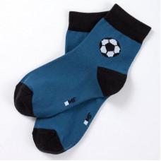 """Детские носки """"Футбол"""" джинсовый"""