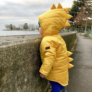 Куртка Дино демисезонная Горчица