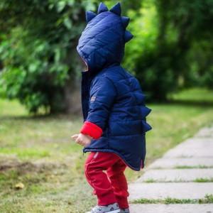 Куртка Дино демисезонная Темно-синяя