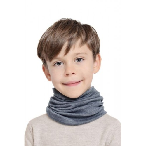 Детский шарф-трансформер NORVEG серый