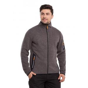Флисовая куртка мужская NORVEG серии Knitted цвет серый