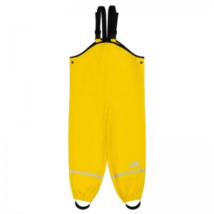 Брюки-дождевики детские Клео OLDOS жёлтый