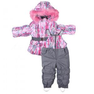 """Зимний костюм для девочки """"Каролина"""" Олдос"""