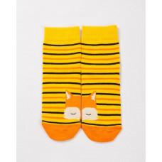 """Детские носки """"Лисички"""" оранжевый"""