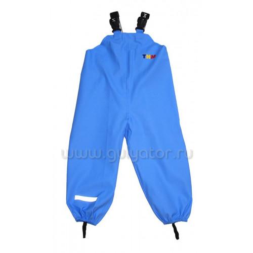 Непромокаемая одежда полукомбинезон тим голубой