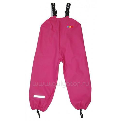 Непромокаемая одежда полукомбинезон ТИМ фуксия