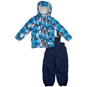 """Зимний костюм для мальчика Reike """"Монстрик"""" синий"""