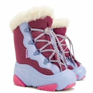 Сапожки зимние DEMAR SNOW MAR розовые