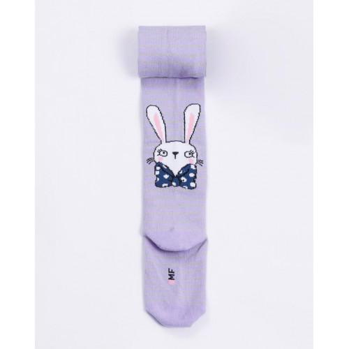 """Детские колготки """"Кролик"""" светло-фиолетовый"""