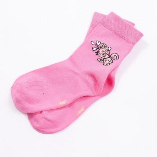 """Детские носки """"Розы"""" розовый"""