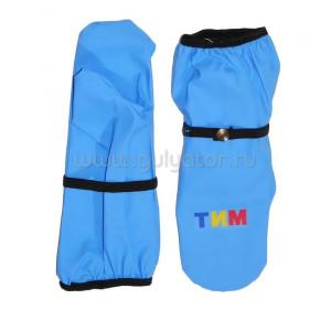 Непромокаемые рукавицы ТИМ голубые