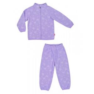 Костюм флисовый Reike светло-фиолетовый