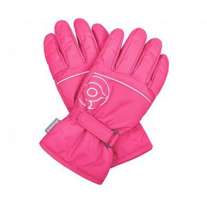 Перчатки Crockid розовые