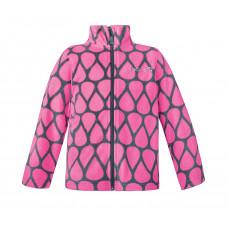 Куртка флисовая Crockid розовая