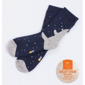 """Детские носки """"Умка"""" тёмно-синий"""