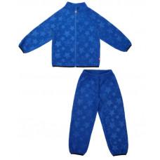 Флисовый костюм для мальчика Reike синий
