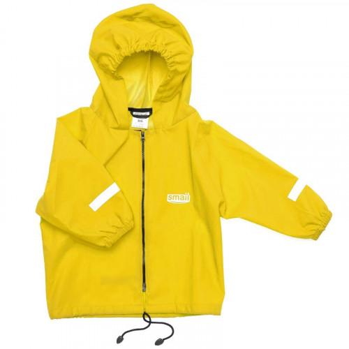 Куртка непромокаемая SMAIL жёлтая
