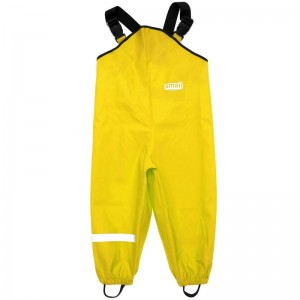 Непромокаемый полукомбинезон SMAIL жёлтый