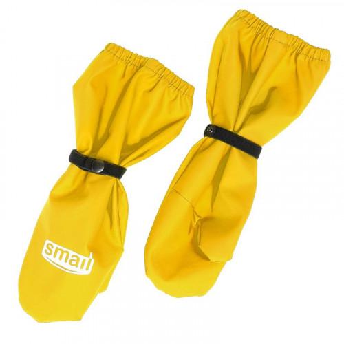Непромокаемые рукавицы Smail жёлтые