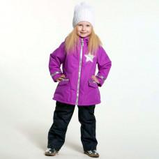 Демисезонный костюм для девочки Stella С ПАЙЕТКАМИ фуксия