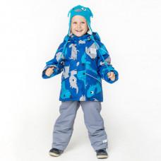 Демисезонный костюм для мальчика Stella DOGS бирюзовый
